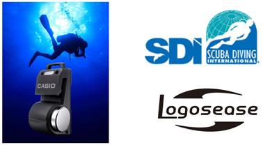 """世界的なスクーバダイビング指導組織SDIが水中無線機""""Logosease""""の講習 ..."""
